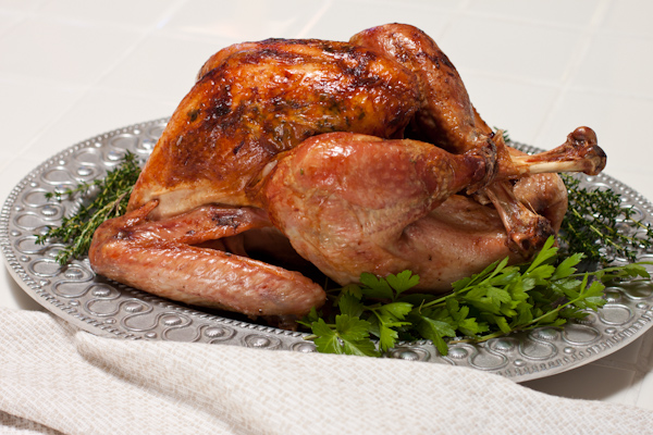 How to roast a turkey | Low-sodium herb-roasted turkey on Recipe Renovator