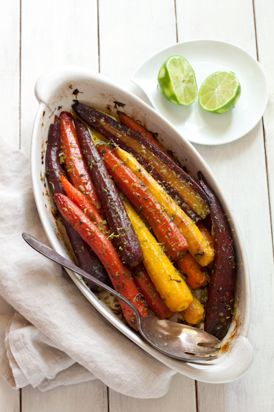 Roasted Carrots with cilantro and lime | Recipe Renovator
