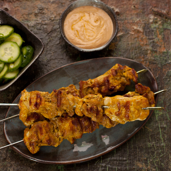 Chicken Satay | Gluten-free, low-sodium | Recipe Renovator