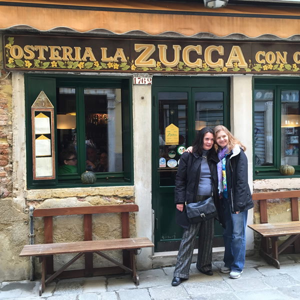 La Zucca, Venice, Italy | Stephanie Weaver and Jonelle Galloway