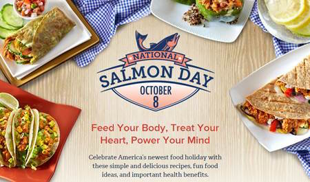 National Salmon Day October 8, 2015