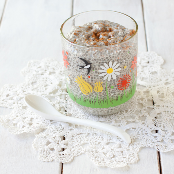 Vanilla Chia Pudding from Recipe Renovator | gluten-free, dairy-free, paleo, low-sodium, nut-free