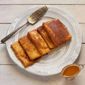 Sesame Baked Tofu from Stephanie Weaver | Gluten-free, vegan, unprocessed