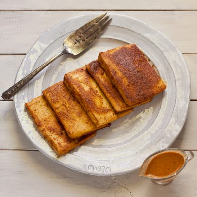Sesame Baked Tofu from Stephanie Weaver | Gluten-free, vegan, unprocessed