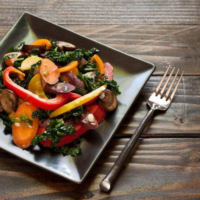 How to stir fry vegetables from Stephanie Weaver | Gluten-free, vegan, paleo, Whole30, migraine-friendly