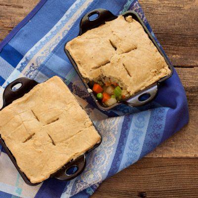 Veggie Pot Pie from Stephanie Weaver MPH | Gluten-free, dairy-free, vegan, soy-free option