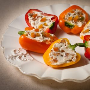 Stuffed pepper appetizer