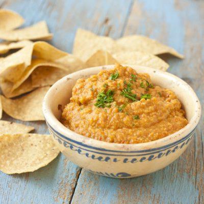 Hatch Chile Pepper Hummus