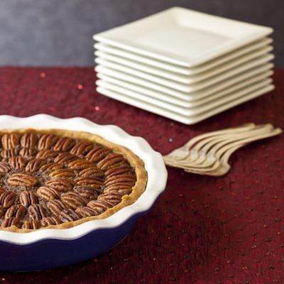 Healthy Chocolate Bourbon Pecan Pie