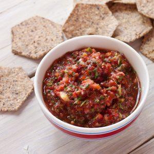 Strawberry Salsa   Recipe Renovator   Gluten-free, low-sodium, migraine-friendly, paleo, raw