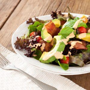 BLT Salad | Recipe Renovator | Low-sodium, gluten-free, migraine-friendly