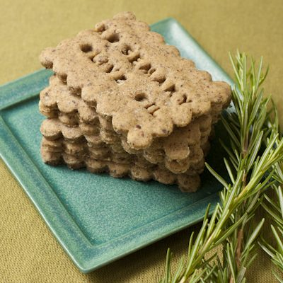Rosemary Olive Oil Crackers | Recipe Renovator
