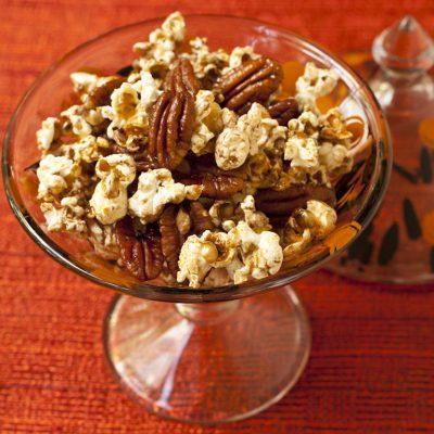 Maple Pecan Glazed Popcorn | Recipe Renovator