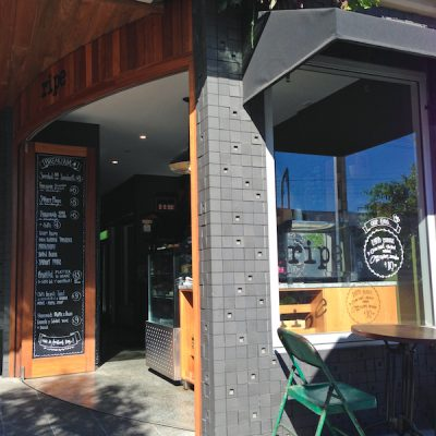 Ripe restaurant South Brisbane Entrance