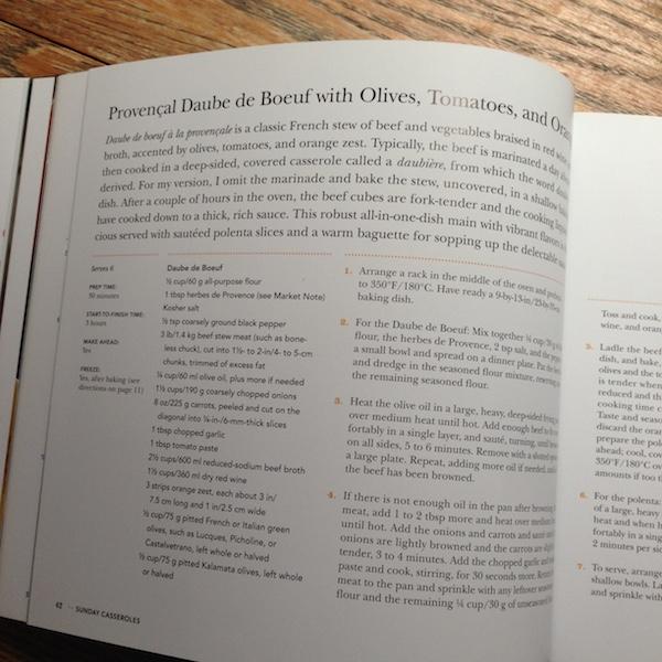 Sunday Casseroles | Cookbook review by Recipe Renovator
