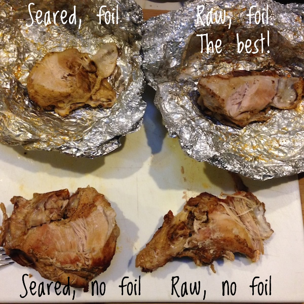 Slow cooker Turkey Test | Low-sodium Thanksgiving dinner for two | Recipe Renovator