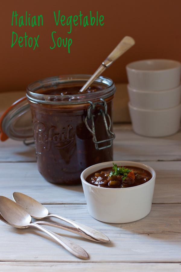 Italian Vegetable Detox Soup | Recipe Renovator