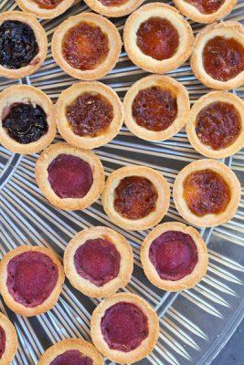 Cream Cheese Tarts with berry filling   Recipe Renovator   Gluten-free, migraine-friendly, low-sugar