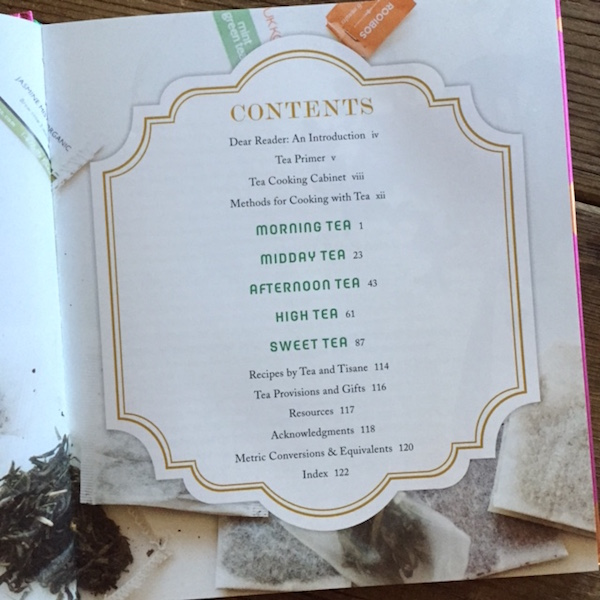Review of Steeped, tea cookbook by Annelies Zijderveld | Recipe Renovator