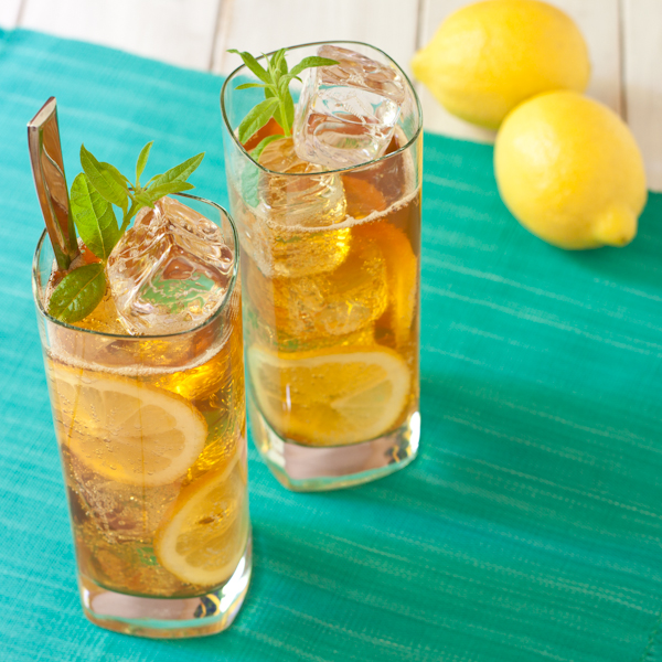 Lemon verbena Pimm's Cocktails from Recipe Renovator