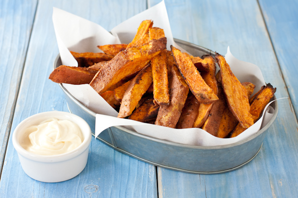 Pumpkin Spice Sweet Potato Fries | Spicy! | Recipe Renovator | gluten-free, paleo, Whole30, vegan