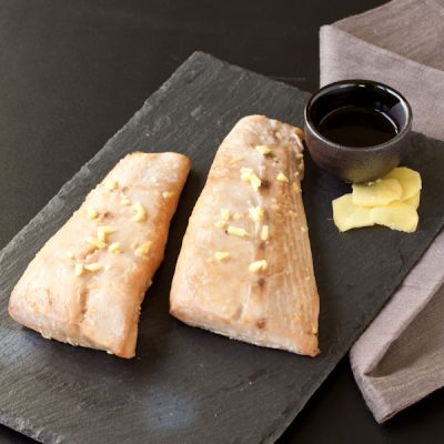 Baked Tuna with teriyaki glaze   Recipe Renovator   Soy-free, gluten-free, low sodium