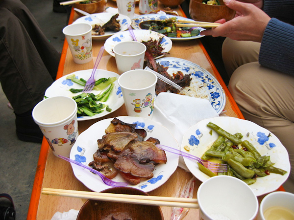 Chinese Food in Sichuan