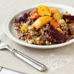 Roasted Beet Quinoa Salad from Recipe Renovator | Gluten-free, low-sodium, vegan, dairy-free