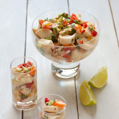 Hearts of Palm ceviche | Vegan, gluten-free, paleo, Whole30 compliant