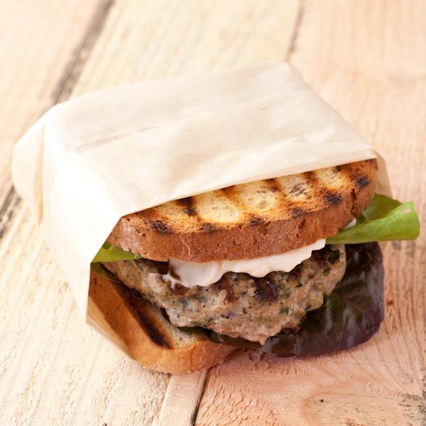 Mediterranean turkey burgers from Stephanie The Recipe Renovator   paleo, gluten-free, Whole30 compliant