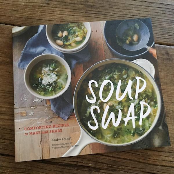 Review of Soup Swap by Kathy Gunst on Recipe Renovator | Genius idea!