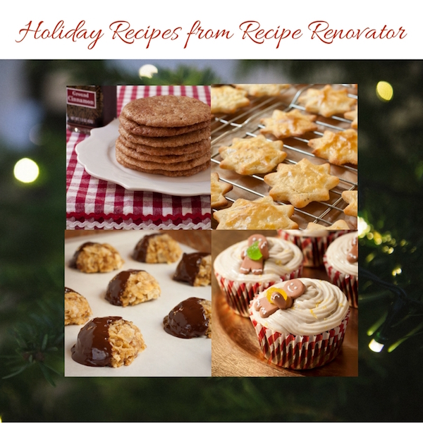 Holiday recipes from Recipe Renovator