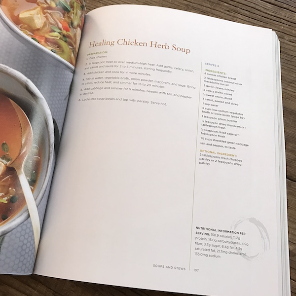 Review of The Brain Warrior's Way Cookbook | Recipe Renovator