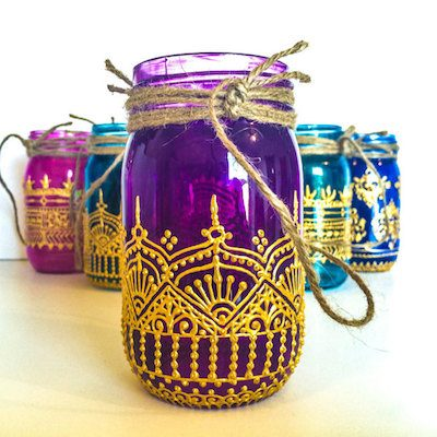 MKConnection Henna Jar